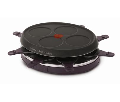 tefal raclette gril 4 mini crepes 8 coupelles re130612. Black Bedroom Furniture Sets. Home Design Ideas