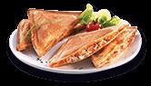Sandwich thon tomate et chorizo