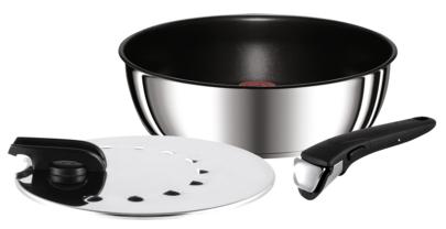 Poignée TEFAL Amovible Basic Pour Casseroles Poëles Sauteuses Ustensiles Ingenio
