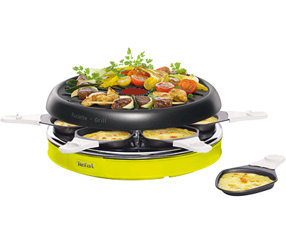 Raclette Colormania 6 coupelles