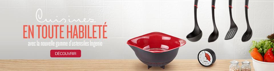 ustensiles de cuisine tefal spatules couteaux balances de cuisine. Black Bedroom Furniture Sets. Home Design Ideas