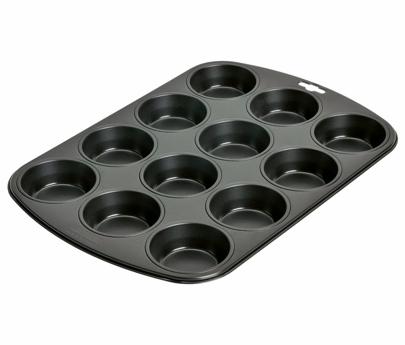tefal moule muffins x12 easygrip j1625714. Black Bedroom Furniture Sets. Home Design Ideas