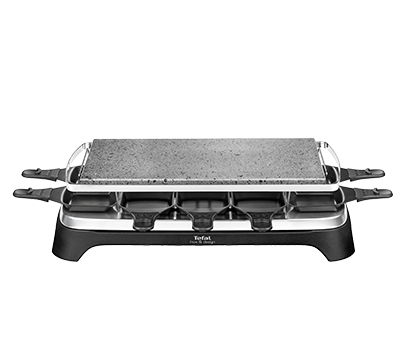 tefal pierrade raclette inox design pr457812. Black Bedroom Furniture Sets. Home Design Ideas