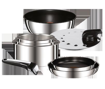 Tefal ingenio gourmet - Batterie de cuisine tefal ingenio induction ...
