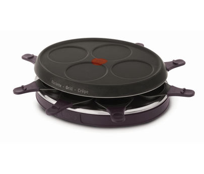 tefal raclette gril 4 mini crepes 8 coupelles re130612. Black Bedroom Furniture Sets. Home Design Ideas