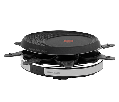 tefal pierrade raclette inox design pr457812. Black Bedroom Furniture Sets. Home Design Ideas