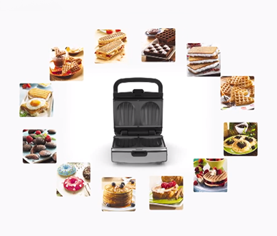 tefal croque gaufre snack collection sw853d12. Black Bedroom Furniture Sets. Home Design Ideas