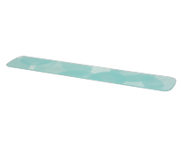 Plateau verre turquoise TS-01026170