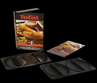 Tefal plaques 2 empanadas snack collection xa800812 - Plaque tefal snack collection ...