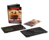 tefal plaques 2 bricelets snack collection xa800712. Black Bedroom Furniture Sets. Home Design Ideas