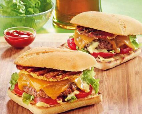 Cheeseburger au bacon
