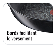 Bords facile à verser