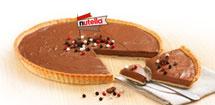 tarte au nutella®<br>façon cheesecake